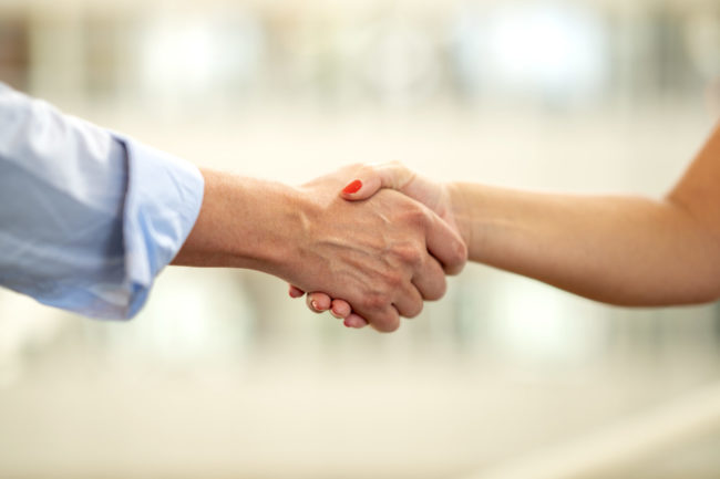 Uniflex Bemanning - Handskakning